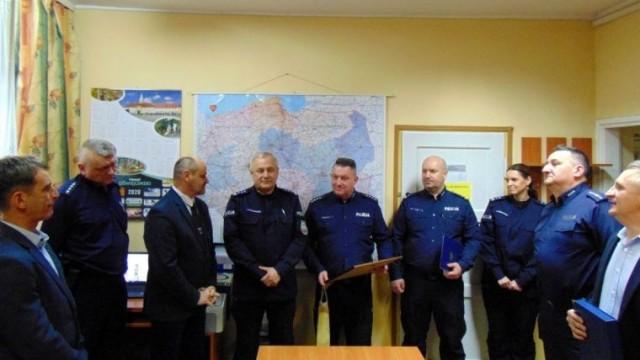 Nowy komendant komisariatu Policji w Zatorze