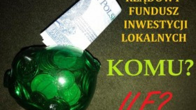 O co chodzi z tym Rządowym Funduszem Inwestycji Lokalnych – wyjaśniamy!