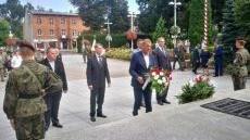 Obchody Święta Wojska Polskiego w Oświęcimiu