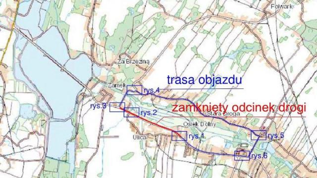 Od przyszłego tygodnia utrudnienia na ulicy Głównej w Osieku