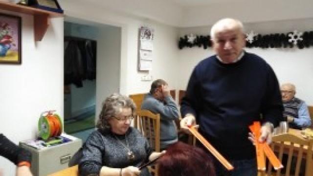 Odblaskowa akcja w Klubie Seniora w Witkowicach