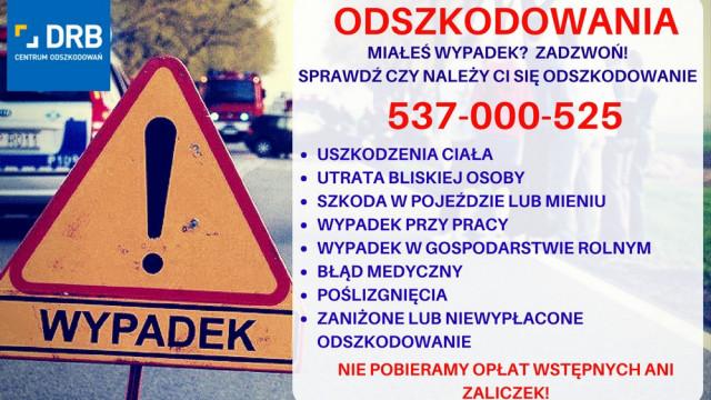Odszkodowania powypadkowe, ważne informacje dla poszkodowanych.