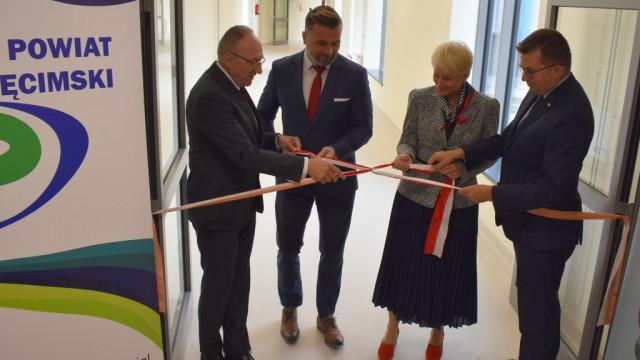 Oficjalne otwarcie przewiązek w Szpitalu Powiatowym im. Św. Maksymiliana Kolbe w Oświęcimiu. - InfoBrzeszcze.pl