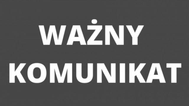 Ogłoszenia żałoby na terenie powiatu oświęcimskiego w związku ze śmiercią starosty Marcina Niedzieli