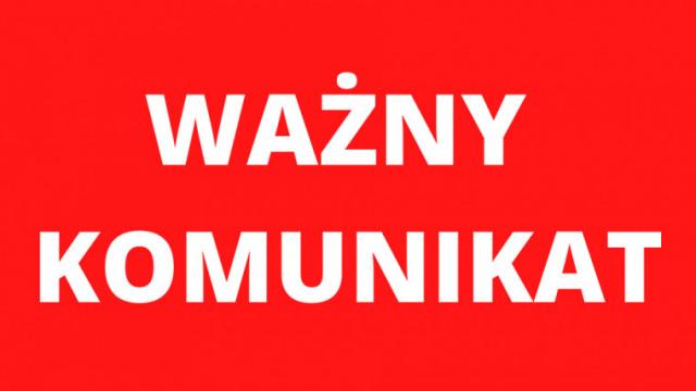 Ogłoszenia żałoby na terenie powiatu oświęcimskiego wzwiązku ze śmiercią starosty Marcina Niedzieli