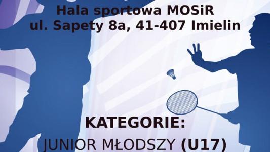 Ogólnopolski turniej badmintona w Imielinie