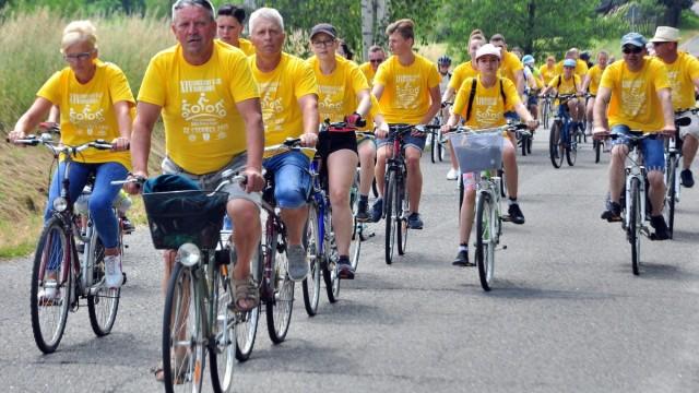 OSIEK. Blisko pół tysiąca rowerzystów wzięło udział w XIV Rodzinnym Rajdzie Rowerowym