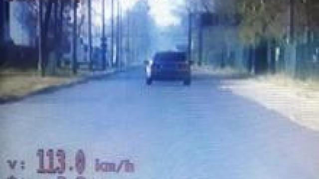 Osiek. Przesadził z prędkością  - stracił prawo jazdy