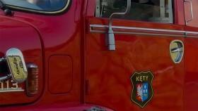 OSP Kęty w oczekiwaniu na miejski samochód ratowniczo-gaśniczy
