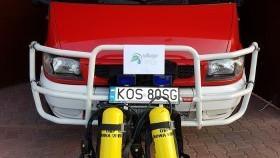 OSP Nowa Wieś ma nowe aparaty do ochrony dróg oddechowych