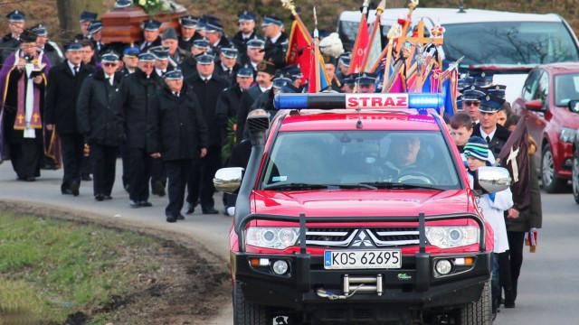 Ostatnia droga dh Bronisława Jania. FOTO!