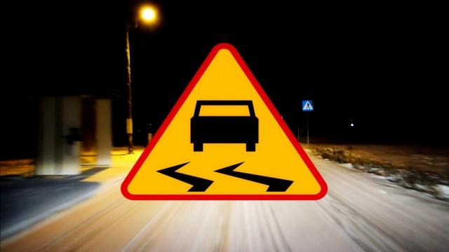 Ostrzeżenie IMGW przed oblodzeniem jezdni i chodników
