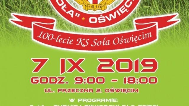 Oświęcim. 100-lecie Klubu Sportowego Soła