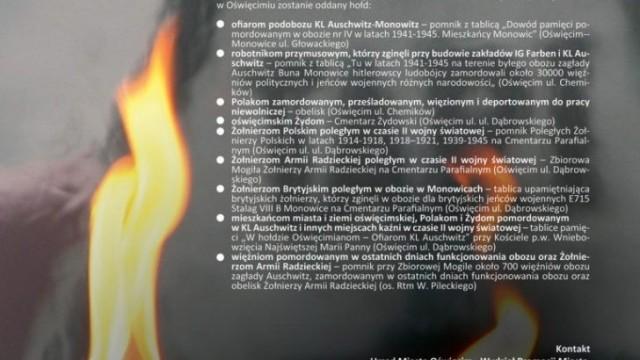 Oświęcim. 27 stycznia. 74. rocznica oswobodzenia KL Auschwitz i miasta Oświęcimia