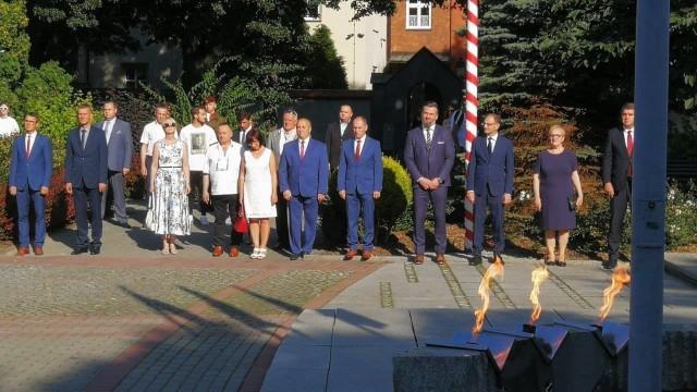 OŚWIĘCIM. 76. rocznica wybuchu Powstania Warszawskiego