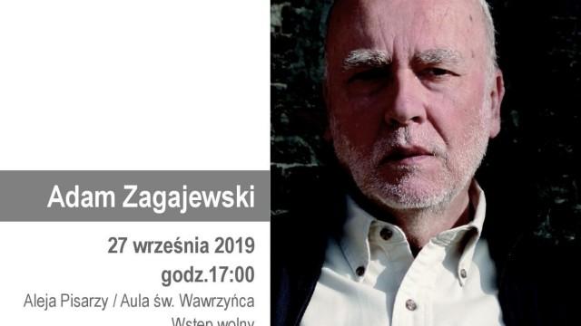 OŚWIĘCIM. Adam Zagajewski odsłoni kolejną tablicę na Alei Pisarzy