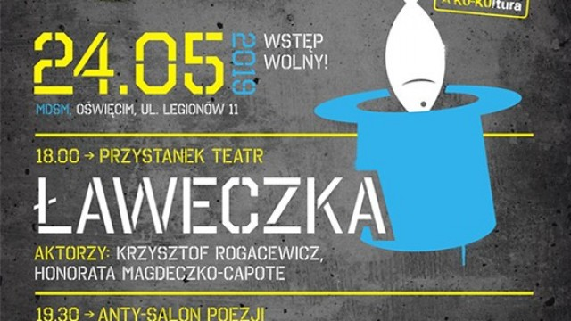 """Oświęcim. Alternatywnie w MDSM. Spektakl """"Ławeczka"""", spotkanie z Urszulą Zajączkowską i koncert Terrific Sunday"""