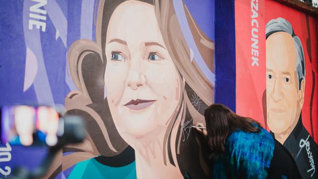 OŚWIĘCIM. Anna Dymna odsłoniła swój mural