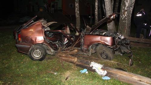 OŚWIĘCIM. Areszt wobec 20-latka podejrzanego o spowodowanie po pijanemu śmiertelnego wypadku
