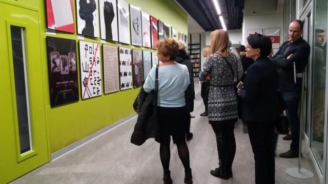 OŚWIĘCIM. Biennale plakatu zaprezentowano we Lwowie
