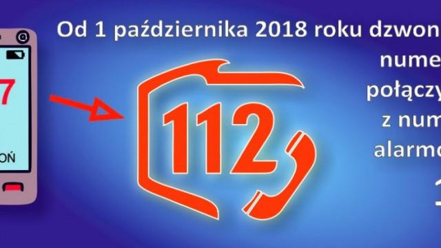 Oświęcim. Centrum Powiadamiania Ratunkowego w Krakowie przejmuje obsługę numeru alarmowego 997 z terenu województwa małopolskiego.
