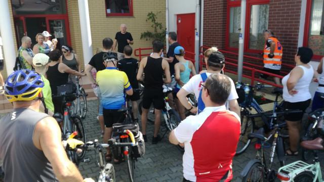 OŚWIĘCIM-CHEŁMEK. Na rowerze po zdrowie i dawkę historii