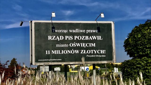 OŚWIĘCIM. Czy dzięki nowym billboardom miasto odzyska 11 mln zł?