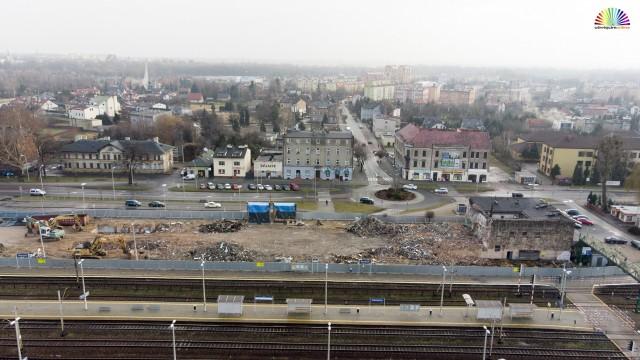 OŚWIĘCIM. Do końca roku dworzec PKP zniknie z powierzchni ziemi