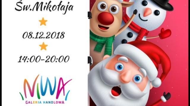 OŚWIĘCIM. Galeria Niwa zaprasza na zabawę w magicznym świecie Świętego Mikołaja