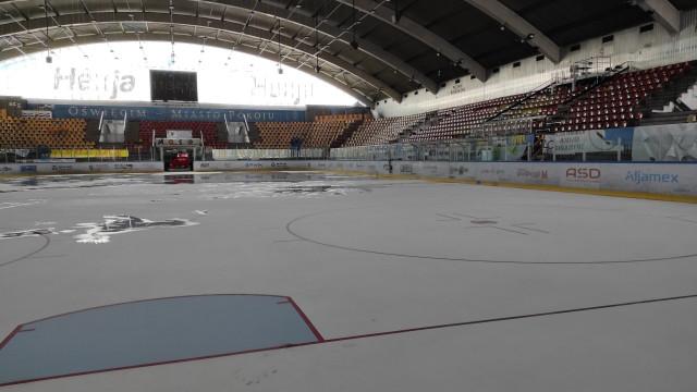 OŚWIĘCIM. Hali lodowa gotowa na Oświęcimskie Centrum Szczepień