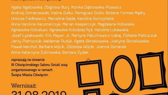 Oświęcim. II Oświęcimski Salon Sztuki. Wystawa artystów ziemi oświęcimskiej z okazji Święta Miasta