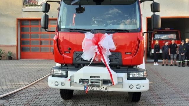 OŚWIĘCIM. Jest nowy wóz strażacki w OSP