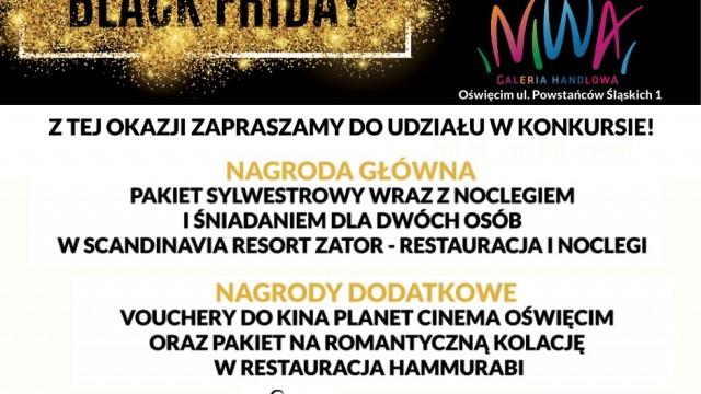 OŚWIĘCIM. Już za tydzień - Światowy Dzień Zakupów, czyli Black Friday w Galerii Niwa