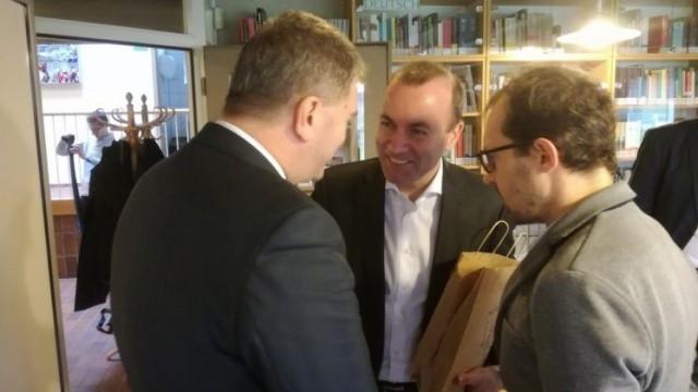 OŚWIĘCIM. Kandydat na szefa Komisji Europejskiej z wizytą w Domu Spotkań