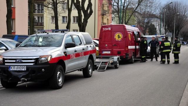 OŚWIĘCIM. Kilkudziesięciu policjantów i strażaków szuka zaginionej seniorki chorej na Alzhaimera