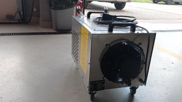 Oświęcim. Kolejne urządzenie do walki z koronawirusem Sars - CoV-2 znalazło się na stanie oświęcimskiej Ochotniczej Straży Pożarnej