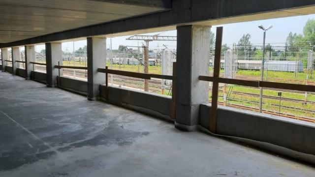 Oświęcim. Konstrukcja parkingu wielopoziomowego jest już na ukończeniu