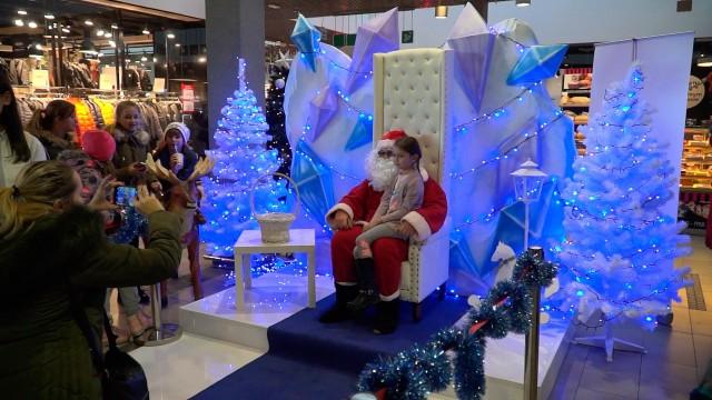 OŚWIĘCIM. Kraina św. Mikołaja w galerii handlowej