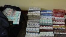 Oświęcim. Libiąż.  Policjanci zabezpieczyli łącznie ponad 1200 kartonów papierosów bez polskich znaków akcyzy
