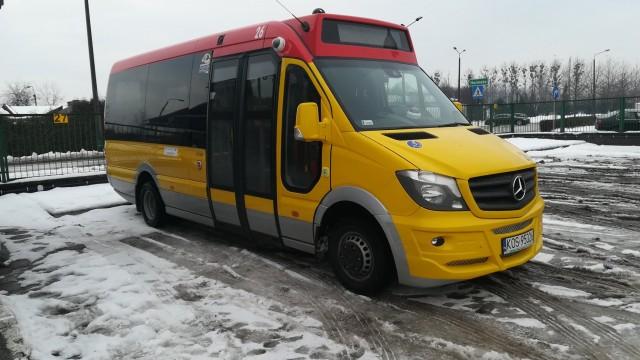 OŚWIĘCIM. MZK kupiło, nowy, mały autobus