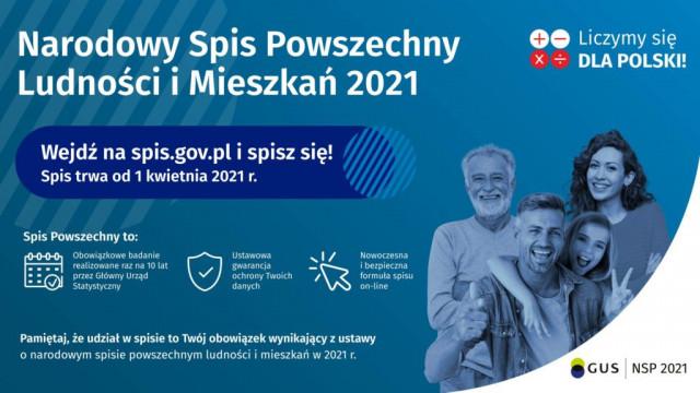 Oświęcim. Narodowy Spis Ludności i Mieszkań 2021. W urzędzie można się spisać do godziny 17