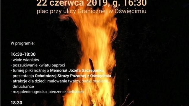 OŚWIĘCIM. Noc Świętojańska Pod Borem 2019