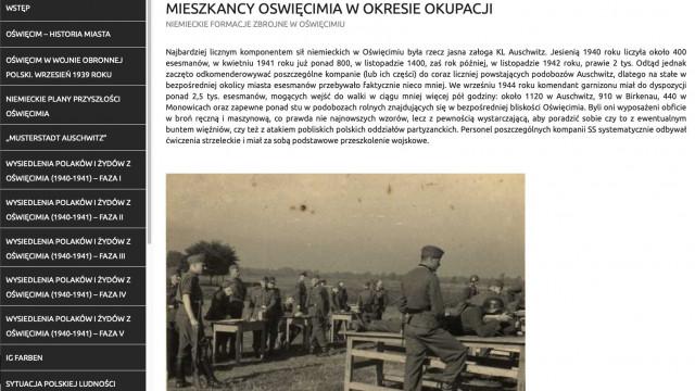 """OŚWIĘCIM. Nowa lekcja: """"Mieszkańcy Oświęcimia w okresie okupacji"""""""