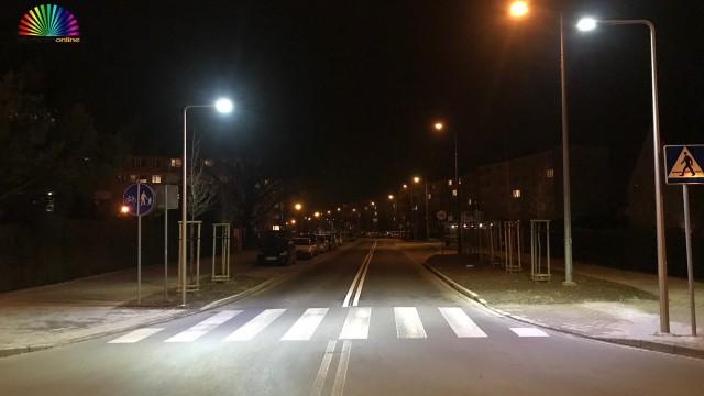 OŚWIĘCIM. Nowe lampy na przejściach dla pieszych