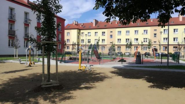 Oświęcim. Nowy wygląd ulicy Kusocińskiego