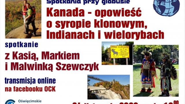 Oświęcim. Oświęcimski Uniwersytet Dziecięcy i spotkanie przy globusie online