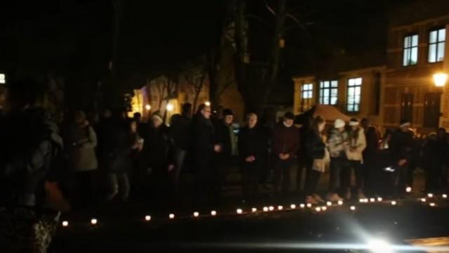 Oświęcim. Otwarto park Pamięci Wielkiej Synagogi