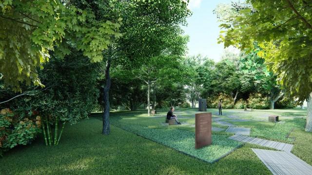 OŚWIĘCIM. Park kieszonkowy w miejscu Wielkiej Synagogi