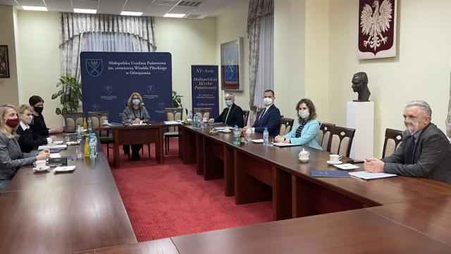 OŚWIĘCIM. Pierwsze posiedzenie Rady Uczelni