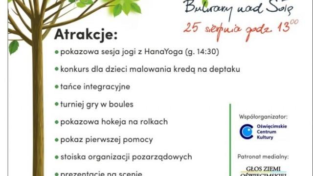 Oświęcim. Piknik Organizacji Pozarządowych na bulwarach